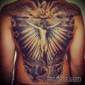 фото тату распятие (crucifix tattoo) (значение) - пример рисунка - 045 tatufoto.com