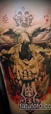 фото тату распятие (crucifix tattoo) (значение) – пример рисунка – 059 tatufoto.com