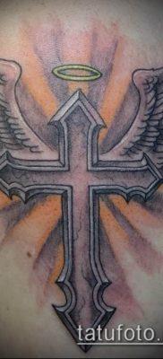 фото тату распятие (crucifix tattoo) (значение) – пример рисунка – 033361 tatufoto.com