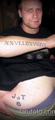 фото тату римские цифры (roman numerals) (значение) – пример рисунка – 121 tatufoto.com