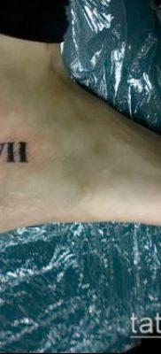 фото тату римские цифры (roman numerals) (значение) – пример рисунка – 178 tatufoto.com