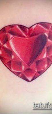 фото тату рубин (ruby tattoo) (значение) – пример рисунка – 006 tatufoto.com