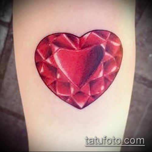 фото тату рубин (ruby tattoo) (значение) - пример рисунка - 006 tatufoto.com