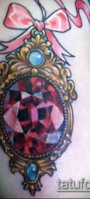 фото тату рубин (ruby tattoo) (значение) – пример рисунка – 007 tatufoto.com