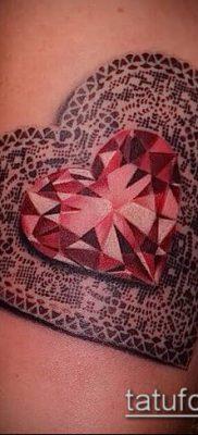 фото тату рубин (ruby tattoo) (значение) – пример рисунка – 019 tatufoto.com