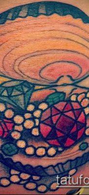 фото тату рубин (ruby tattoo) (значение) – пример рисунка – 023 tatufoto.com