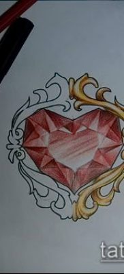 фото тату рубин (ruby tattoo) (значение) – пример рисунка – 027 tatufoto.com
