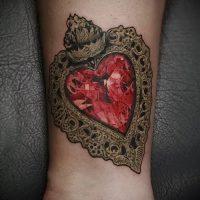 Значение тату рубин