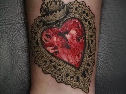 фото тату рубин (ruby tattoo) (значение) - пример рисунка - 036 tatufoto.com