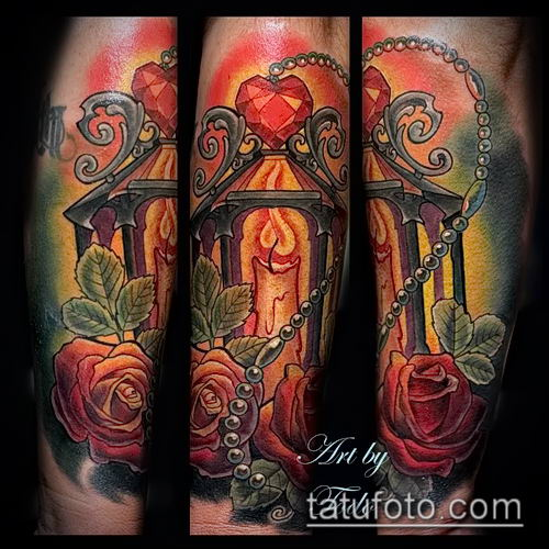 фото тату рубин (ruby tattoo) (значение) - пример рисунка - 042 tatufoto.com
