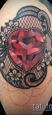 фото тату рубин (ruby tattoo) (значение) – пример рисунка – 049 tatufoto.com