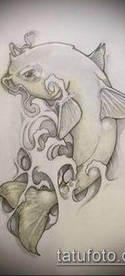 фото тату сом (catfish tattoo) (значение) – пример рисунка – 003 tatufoto.com
