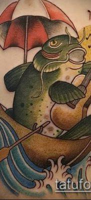 фото тату сом (catfish tattoo) (значение) – пример рисунка – 015 tatufoto.com