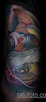 фото тату сом (catfish tattoo) (значение) – пример рисунка – 018 tatufoto.com