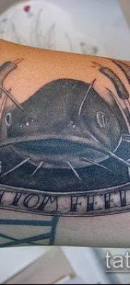 фото тату сом (catfish tattoo) (значение) – пример рисунка – 034 tatufoto.com