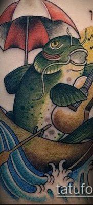 фото тату сом (catfish tattoo) (значение) – пример рисунка – 038 tatufoto.com