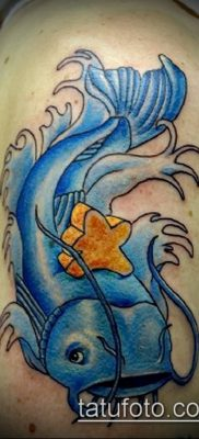 фото тату сом (catfish tattoo) (значение) – пример рисунка – 040 tatufoto.com