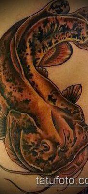 фото тату сом (catfish tattoo) (значение) – пример рисунка – 062 tatufoto.com