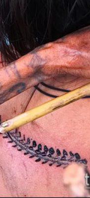 фото тату сороконожка (значение) – пример интересного рисунка тату – 032 tatufoto.com
