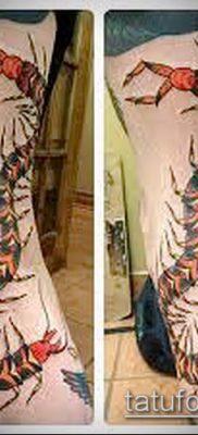 фото тату сороконожка (значение) – пример интересного рисунка тату – 047 tatufoto.com