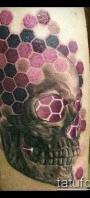 фото тату соты (значение) – пример интересного рисунка тату – 018 tatufoto.com