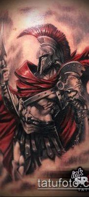 фото тату спартанец (tattoo Spartan) (значение) – пример рисунка – 016 tatufoto.com