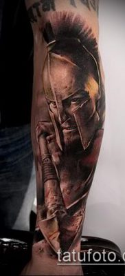 фото тату спартанец (tattoo Spartan) (значение) – пример рисунка – 019 tatufoto.com