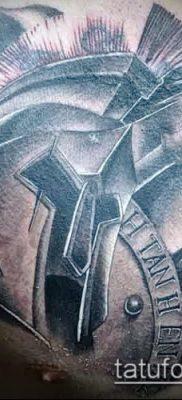 фото тату спартанец (tattoo Spartan) (значение) – пример рисунка – 022 tatufoto.com
