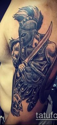 фото тату спартанец (tattoo Spartan) (значение) – пример рисунка – 023 tatufoto.com
