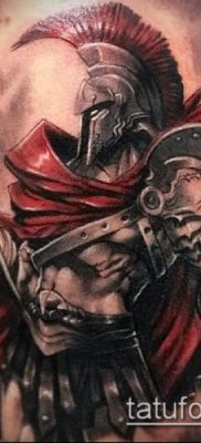 фото тату спартанец (tattoo Spartan) (значение) – пример рисунка – 031 tatufoto.com
