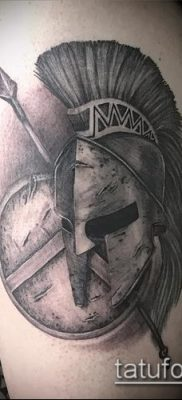 фото тату спартанец (tattoo Spartan) (значение) – пример рисунка – 033 tatufoto.com