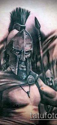 фото тату спартанец (tattoo Spartan) (значение) – пример рисунка – 039 tatufoto.com