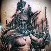 Значение тату Спартанец