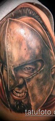 фото тату спартанец (tattoo Spartan) (значение) – пример рисунка – 041 tatufoto.com