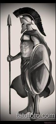 фото тату спартанец (tattoo Spartan) (значение) – пример рисунка – 043 tatufoto.com