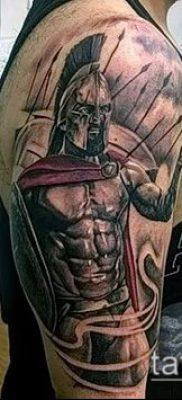 фото тату спартанец (tattoo Spartan) (значение) – пример рисунка – 045 tatufoto.com