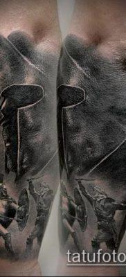 фото тату спартанец (tattoo Spartan) (значение) – пример рисунка – 051 tatufoto.com