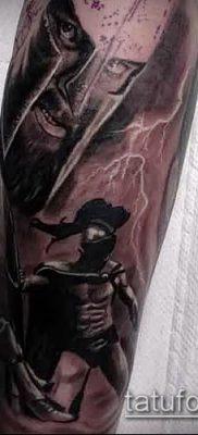 фото тату спартанец (tattoo Spartan) (значение) – пример рисунка – 052 tatufoto.com