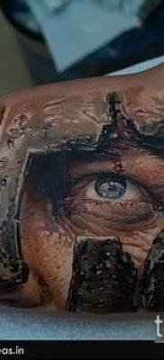 фото тату спартанец (tattoo Spartan) (значение) – пример рисунка – 053 tatufoto.com