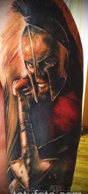 фото тату спартанец (tattoo Spartan) (значение) – пример рисунка – 054 tatufoto.com