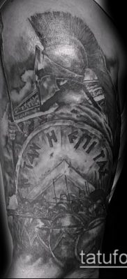 фото тату спартанец (tattoo Spartan) (значение) – пример рисунка – 055 tatufoto.com
