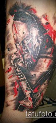 фото тату спартанец (tattoo Spartan) (значение) – пример рисунка – 058 tatufoto.com