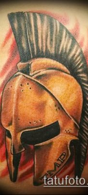 фото тату спартанец (tattoo Spartan) (значение) – пример рисунка – 059 tatufoto.com