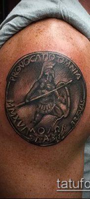 фото тату спартанец (tattoo Spartan) (значение) – пример рисунка – 065 tatufoto.com