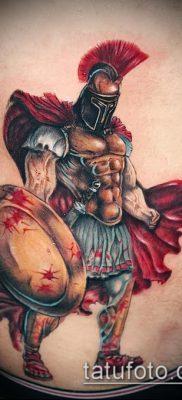 фото тату спартанец (tattoo Spartan) (значение) – пример рисунка – 066 tatufoto.com