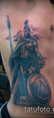 фото тату спартанец (tattoo Spartan) (значение) – пример рисунка – 067 tatufoto.com