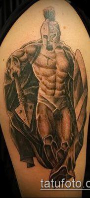 фото тату спартанец (tattoo Spartan) (значение) – пример рисунка – 068 tatufoto.com