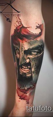 фото тату спартанец (tattoo Spartan) (значение) – пример рисунка – 070 tatufoto.com