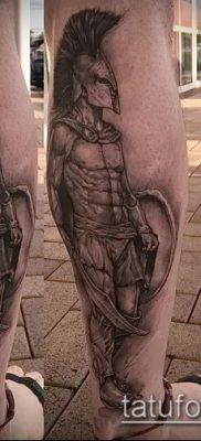 фото тату спартанец (tattoo Spartan) (значение) – пример рисунка – 071 tatufoto.com