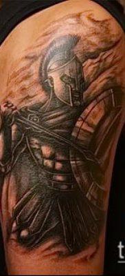 фото тату спартанец (tattoo Spartan) (значение) – пример рисунка – 072 tatufoto.com